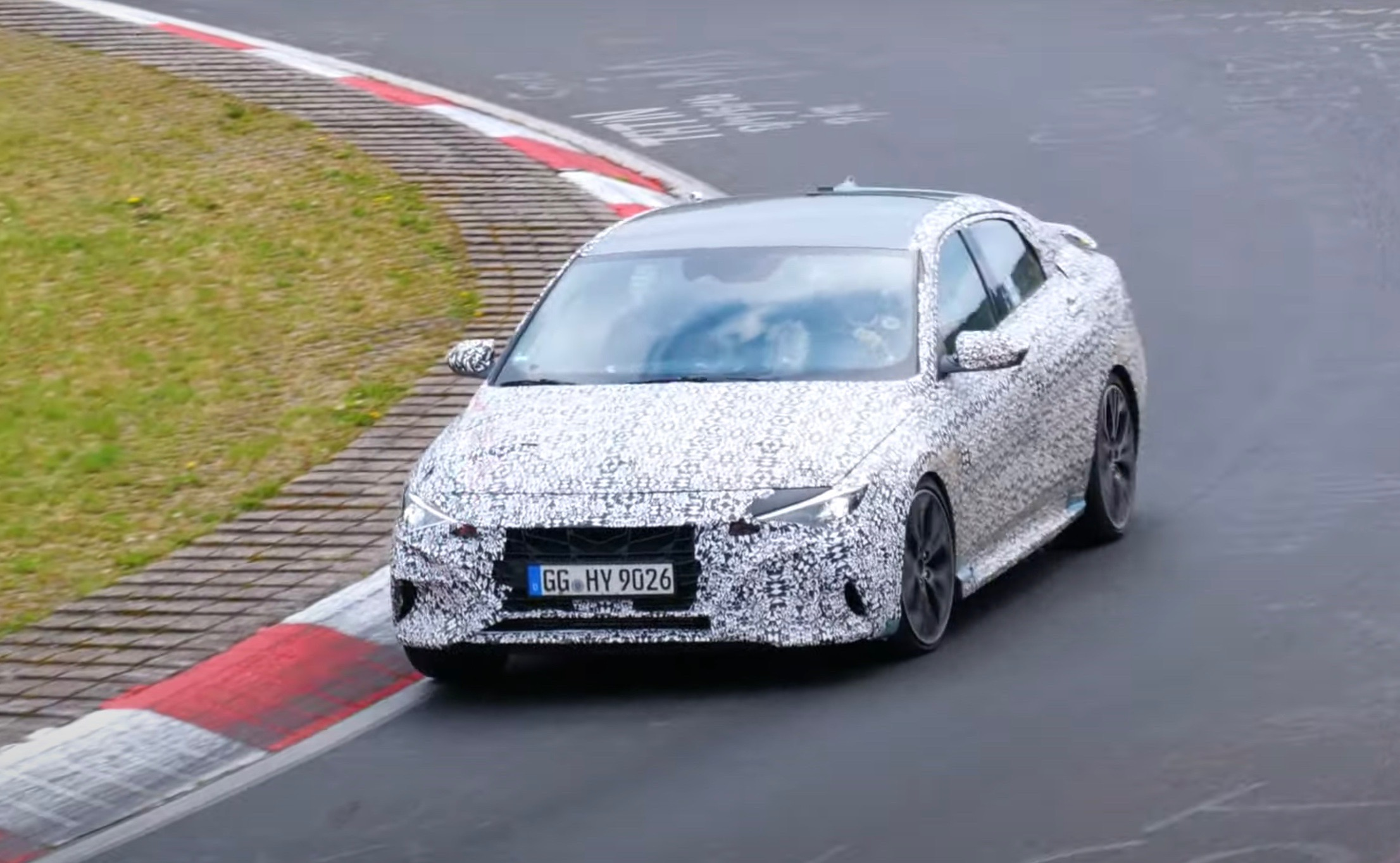 2022 Hyundai i30 Sedan N, aka Elantra N, spotted at Nurburgring (video)