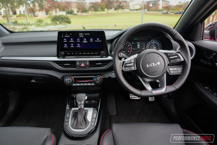 2022 Kia Cerato GT-interior