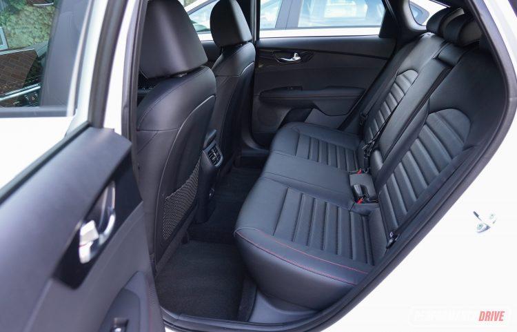 2022 Kia Cerato GT-rear seats