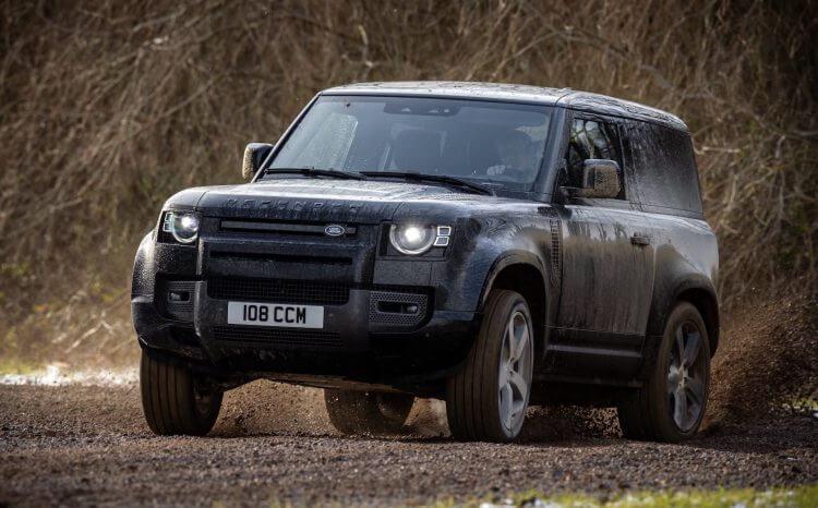2022 Land Rover Defender P525 Sideways Off Road