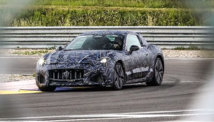 2022 Maserati GranTurismo electric prototypes hit the road