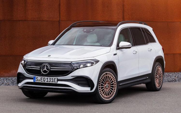 2022 Mercedes-Benz EQB Front