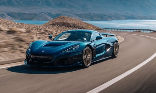 Rimac Nevera debuts as production C_Two; 1427kW, 0-100 in 1.97 seconds