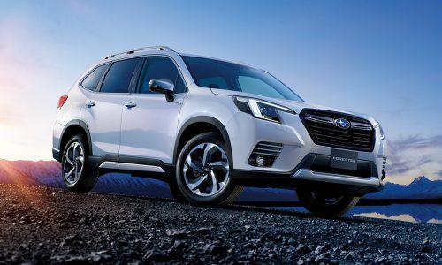 2022 Subaru Forester update revealed, in Australia Q3