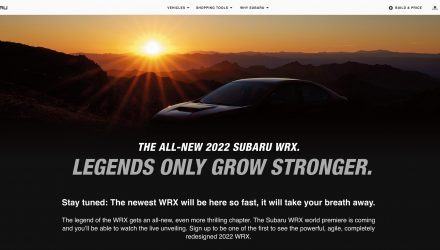 First official 2022 Subaru WRX teaser emerges, to debut soon