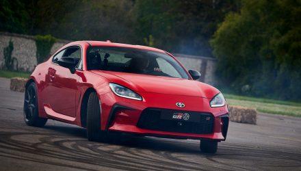 2022 Toyota GR 86 making dynamic debut at Goodwood Festival