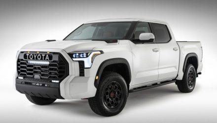 2022 Toyota Tundra exterior design officially revealed