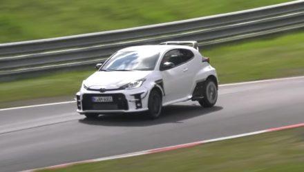 Toyota developing hardcore GR Yaris 'GRMN' model? Prototype spotted (video)