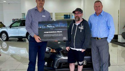 Subaru celebrates 50,000 WRX sales in Australia