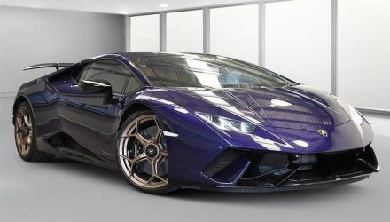 For Sale: Police-confiscated Lamborghini Huracan Performante, in Australia