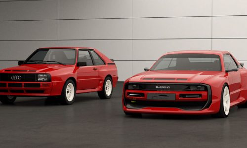 E-Legend EL1 is an Audi Quattro-inspired EV with 600kW