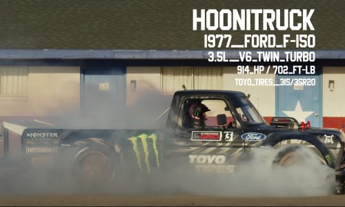 For Sale: Ken Block's 1977 Ford F-150 'Hoonitruck'