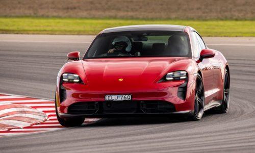 Porsche Taycan Turbo S sets EV lap record at The Bend (video)