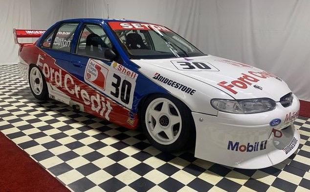 For Sale: Glenn Seton's 1997 Ford EL Falcon Australian V8 Touring Car