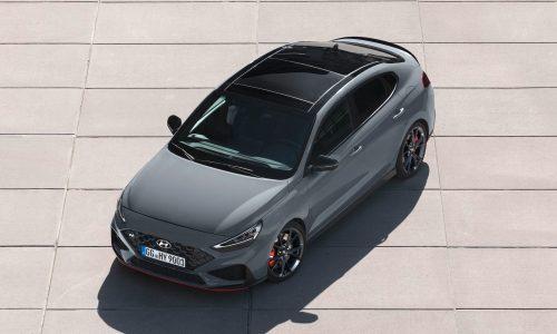 Hyundai Australia announces i30 Fastback N Limited Edition; 206kW, 8spd DCT
