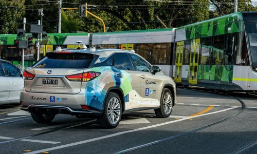 Lexus RX testing Australia-first vehicle-to-infrastructure technology