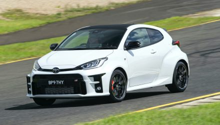 Toyota Australia pauses new orders for GR Yaris