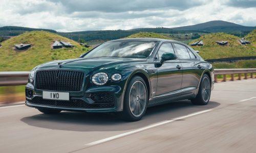Bentley debuts Flying Spur Hybrid; 405kW/750Nm, 700Km range