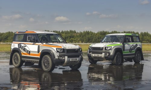 2022 Bowler Defender Challenge one-make race series announced