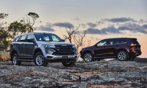 2022 Isuzu MU-X on sale in Australia from $47,900
