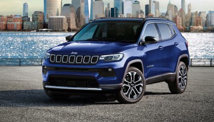 2021 Jeep Compass on sale in Australia from $37,950