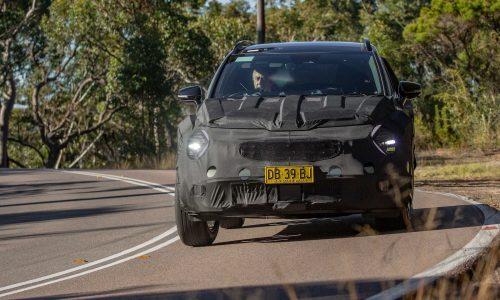 2022 Kia Sportage undergoing Australian tuning, 1.6 turbo confirmed