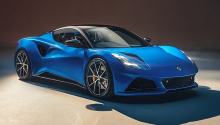 Lotus unveils all-new mid-engine sports car; the Emira