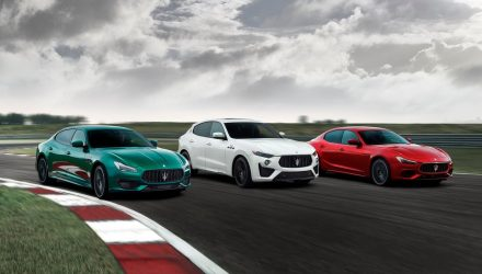 Maserati announces GT, Modena, Trofeo trim levels for MY2022