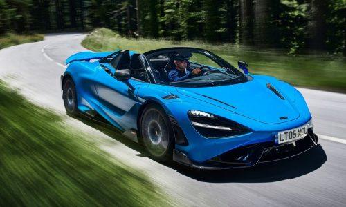 McLaren unveils 765LT Spider, its most powerful convertible