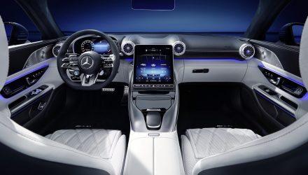 Mercedes-Benz reveals 2022 AMG SL 2+2 interior