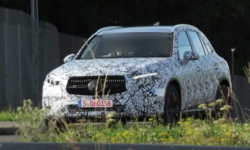2022 Mercedes-Benz 'X254' prototype spotted, GLC 63 to get 4CYL hybrid (video)