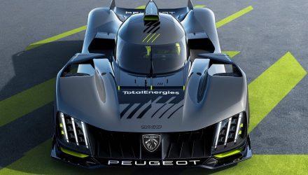 700kW Peugeot 9X8 World Endurance Hypercar racer debuts