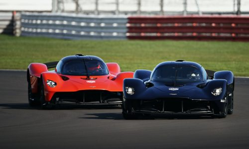 Aston Martin Valkyrie making dynamic debut at 2021 Goodwood Festival