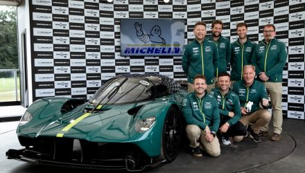Aston Martin Valkyrie voted 'Showstopper' at 2021 Goodwood Festival
