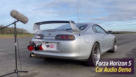 Video: How Forza Horizon 5 game creators develop in-game car sounds
