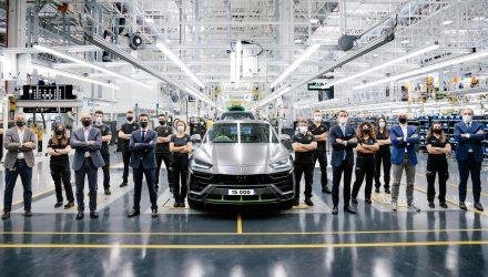 Lamborghini Urus production hits 15,000 units, new record