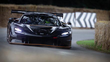 McLaren 720S GT3X wins 2021 Goodwood Festival hill climb (video)