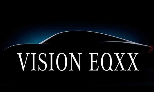 Mercedes-Benz previews Vision EQXX concept, 1000km range