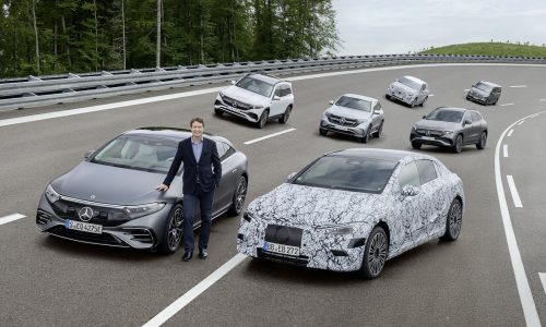 All new-gen Mercedes-Benz models will be electric from 2025