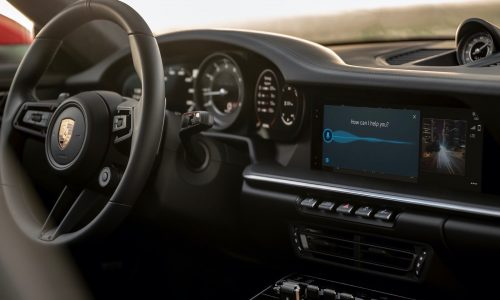 Porsche introduces Android Auto with PCM '6.0' infotainment system