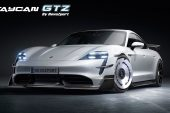 RevoZport debuts wicked 'Revoluzione' aero kit for Porsche Taycan