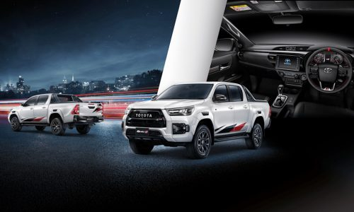 2021 Toyota HiLux GR Sport announced in Thailand