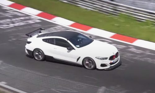 Video: BMW M8 'CSL' prototype? Or test bed for future M hybrid 6CYL powertrain?