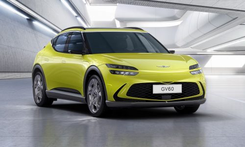 Fully electric Genesis GV60 design officially revealed, inside & out