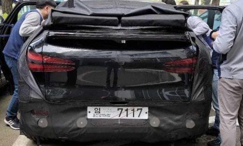 Genesis 'GV60' electric SUV prototype spotted testing in Australia