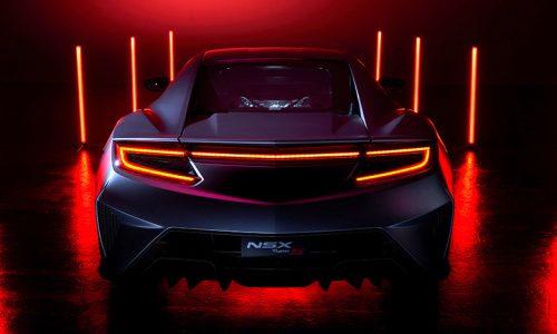 Honda previews 2022 NSX Type S, last hurrah for current gen