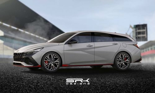 New Hyundai Elantra N 'sports wagon' rendered, looks very tasty