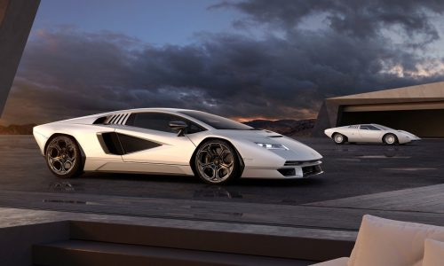 Lamborghini unveils new Countach LPI 800-4, marks 50th anniversary