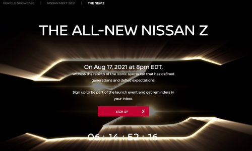 Confirmed: 2022 Nissan Z car will be revealed on August 17