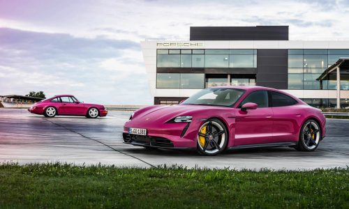 2022 Porsche Taycan update adds Android Auto, iconic colour options